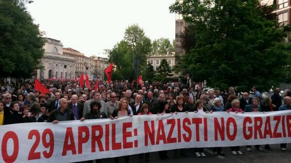 Gli antifascisti milanesi sul 29 Aprile