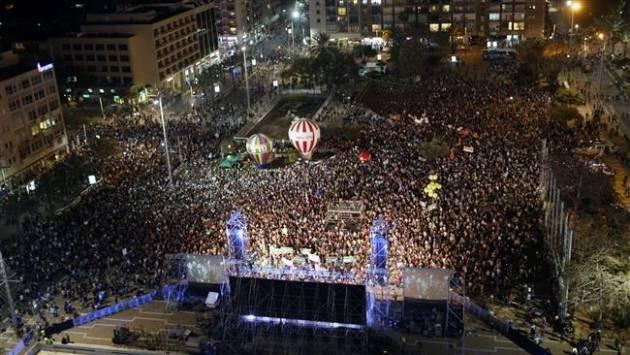 [DallaRete] Israele – In 40mila contro Netanyahu, ma Bibi va avanti per la sua strada