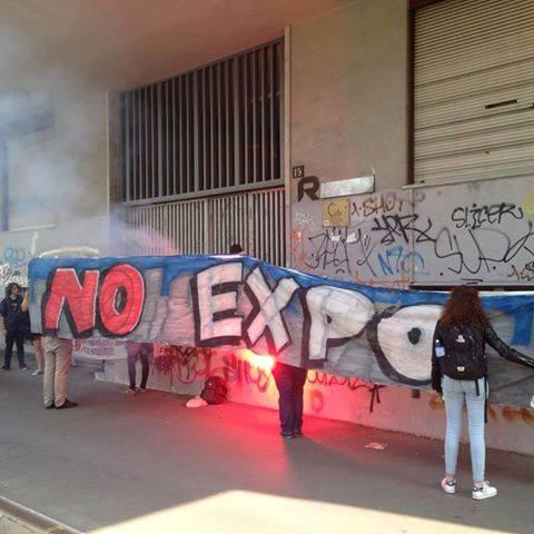 [News] Occupato l'ex-istituto tecnico Rizzoli in Piazza Occhialini per le assemblee nazionali NoExpo