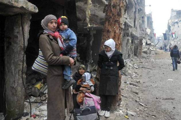 La situazione nel campo profughi di Yarmouk (ultimi aggiornamenti)