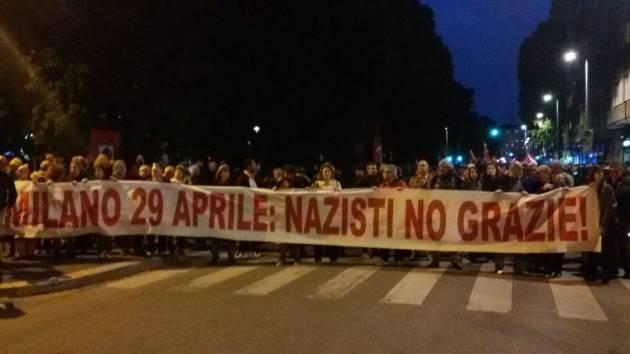 Milano, 29 Aprile – Sfilano gli antifascisti