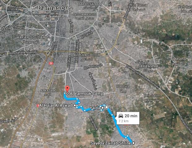 [DallaRete] Isis ricacciato da Yarmouk dai gruppi armati palestinesi