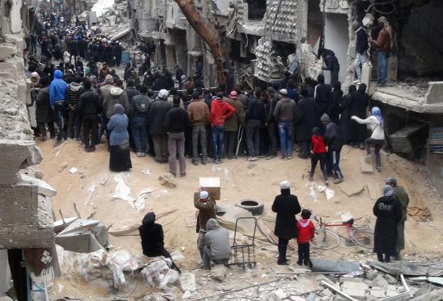 Appello alla mobilitazione per l'apertura di un corridoio umanitario per Yarmouk
