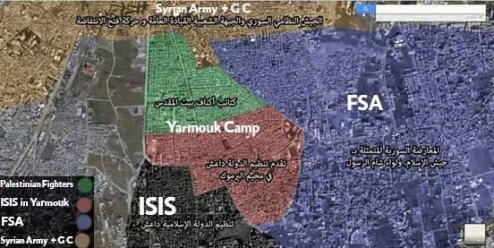 [DallaRete] Campo di Yarmouk: Isis prende il controllo dell'ospedale