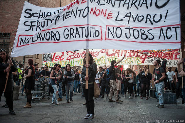 """[DallaRete] In piazza la """"Bologna #NoExpo!"""""""