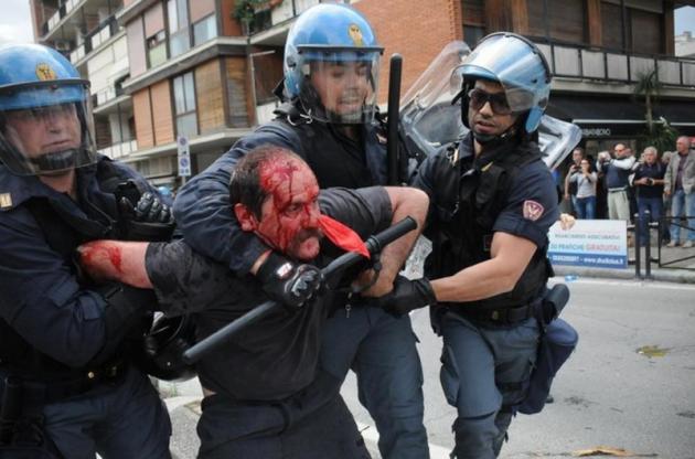 [DallaRete] #MaiconSalvini: contestazioni a Massa, Viareggio e Pisa. Cariche della Polizia