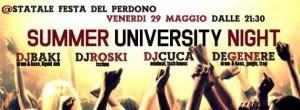 29/5 Summer University Night @ Unimi Fdp // by Dillinger Unimi @ Università Statale