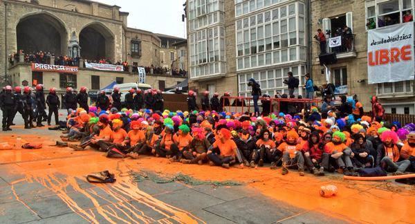 [DallaRete] Paese Basco. Una nuova muraglia umana contro la brutalità della repressione