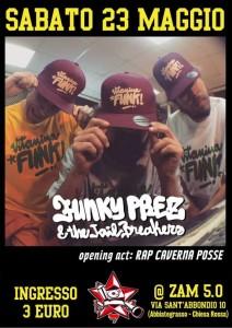 Funky Prez and The Jailbreakerz @ Milano