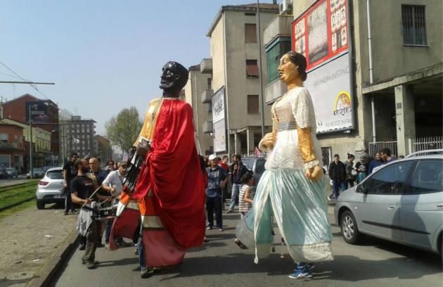Giganti in Giambellino – corteo antirazzista per la riqualificazione