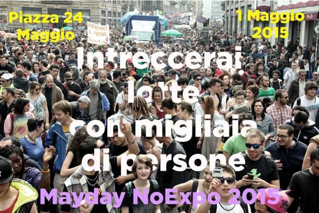 No Expo MayDay – diretta foto e video