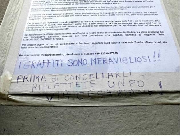 Spugnette, graffiti e mistificazioni