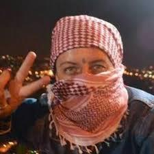 "Samantha Comizzoli attivista italiana detenuta al ""Ben Gurion"""
