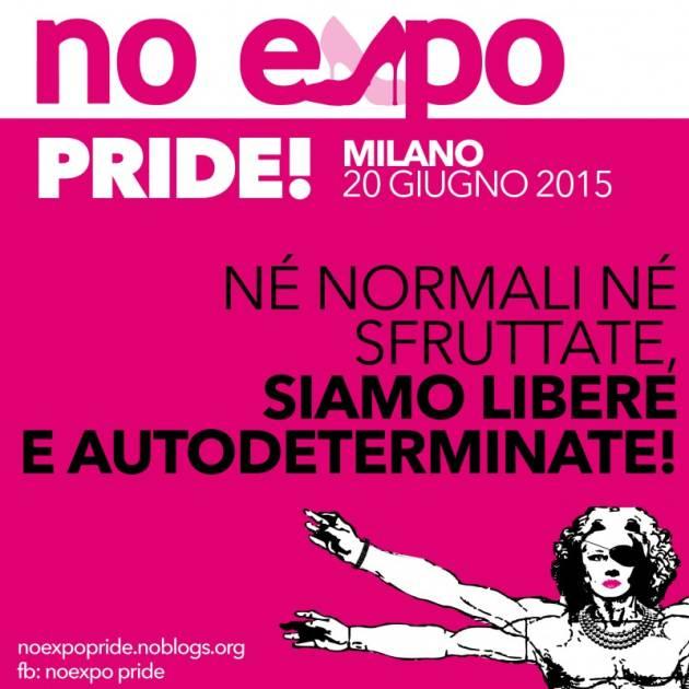 Documento politico per il Noexpo Pride del 20 Giugno 2015