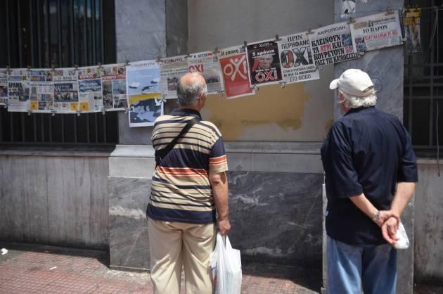 [DallaRete] La narrazione sulla Grecia dei media italiani è quella della troika