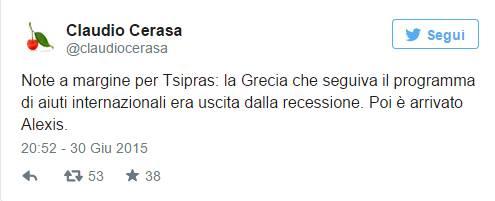 [DallaRete] Milano contro l'austerity, support greek people!