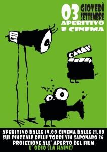 Gratosoglio - Cinema sotto le torri (La Haine) @ Milano
