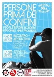 People Before Borders - Persone Prima Dei Confini - Personnes Avant Frontieres @ Bresso
