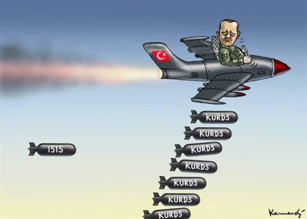 [DallaRete] PKK: «Erdogan attacca il movimento che combatte e sconfigge lo Stato Islamico»