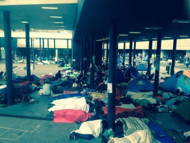 [DallaRete] Rifugiati – La situazione a Budapest e Bicske