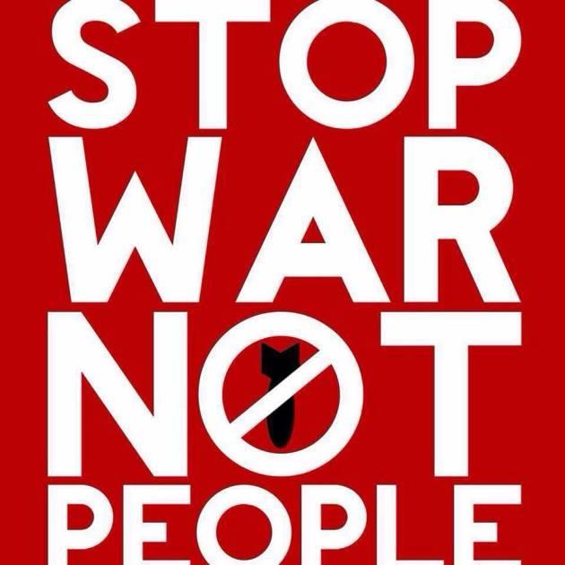 Stop War Not People – Aprire le frontiere, fermare le guerre, respingere il razzismo