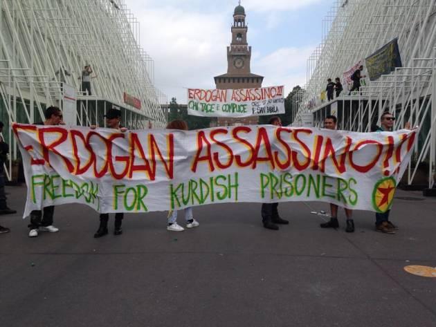 """""""Noi siamo Kobane!"""" – Occupati gli ExpoGate – Mobilitazione ore 18,30 Piazza San Babila"""