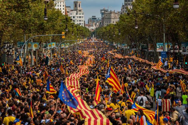 Arrivederci Spagna! La lezione democratica del popolo catalano