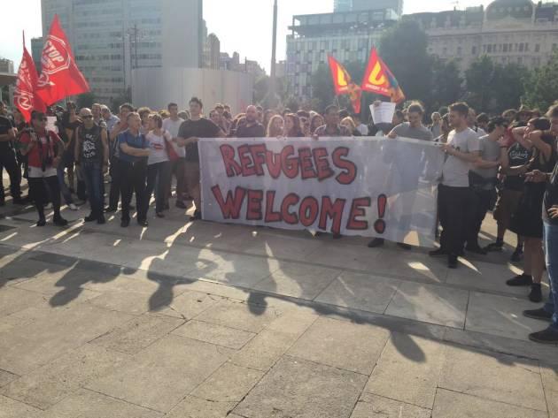 [DallaRete] Con i profughi, contro i nazi, a fianco della resistenza curda. 11-14S: quattro giorni di mobilitazioni a Milano