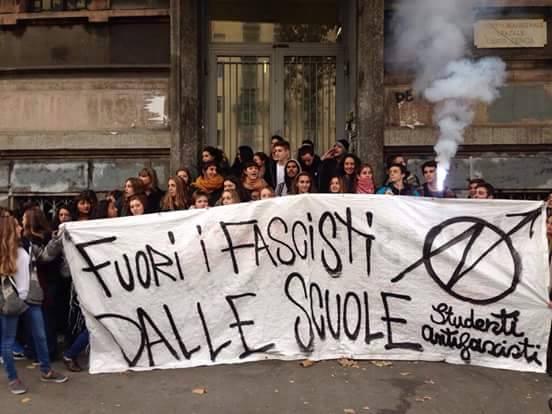 Milano – Provocazioni di Blocco Studentesco al Tenca
