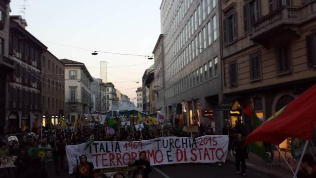 """Milano 12 Dicembre – """"Ricordare le stragi di ieri, fermare le guerre di oggi"""" [foto & video]"""