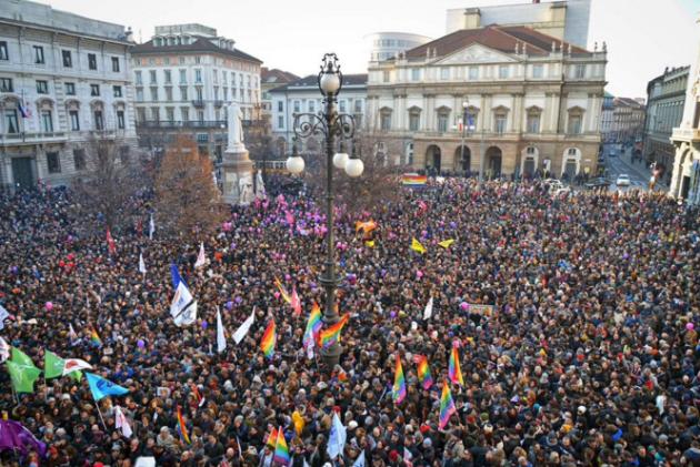 Milano 23 Gennaio, una bella giornata