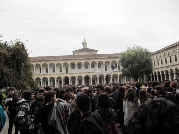Dure condanne a Milano per il corteo NoGelmini dell'8 Ottobre 2010