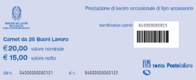 [DallaRete] L'Italia è una repubblica fondata sui voucher