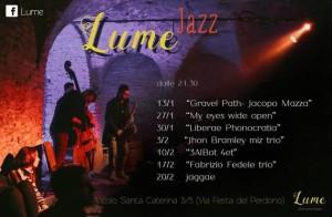 LUMe jazz with 3AlBot + jam session autogestita @ LUMe