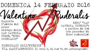 14/2 Valentino Ruderalis @ ZAM - Zona Autonoma Milano