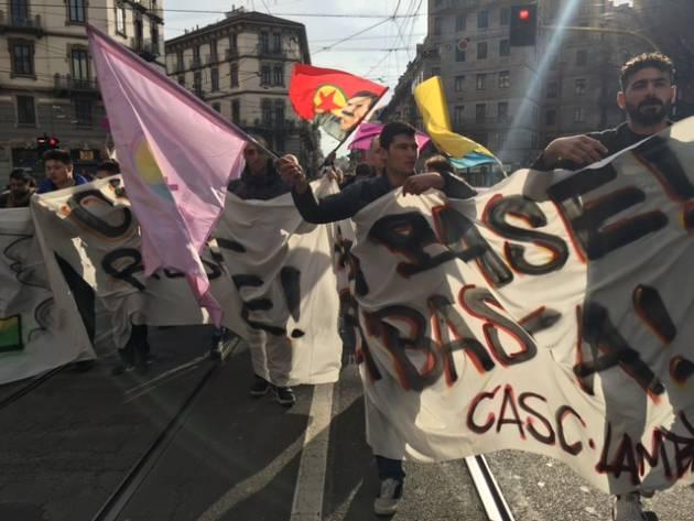Libertà per Ocalan, pace in Kurdistan! – Azione alla sede dell'Unione Europea a Milano!