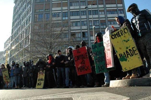 Milano – Condanne per il corteo studentesco alla Regione del 16 Dicembre 2013