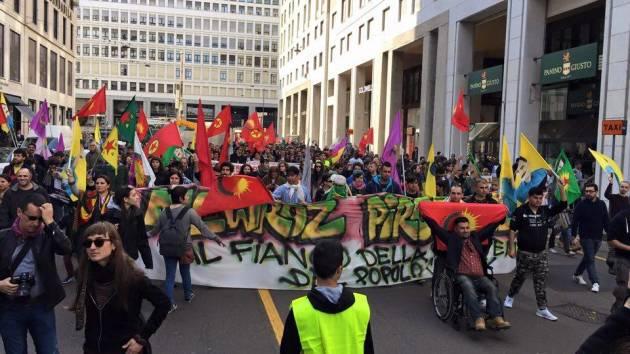 Kurdistan – Corteo per il Newroz a Milano (la diretta)