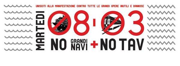 [DallaRete] Venezia – 8 Marzo mobilitazione No Tav, No Mose, No grandi navi