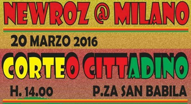 Kurdistan – Newroz @ Milano – 20 Marzo corteo cittadino, ore 14, Piazza San Babila