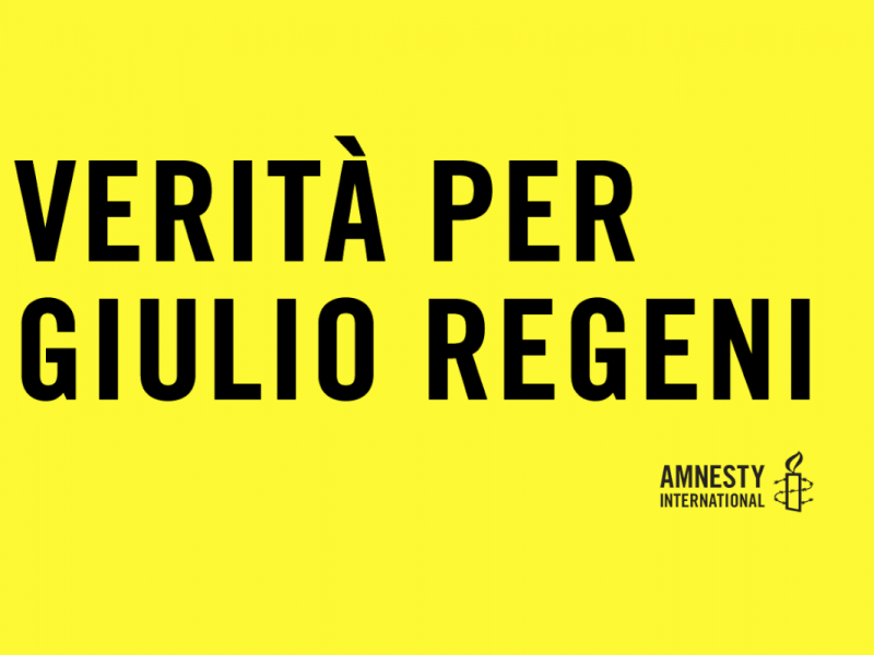 Per Giulio Regeni
