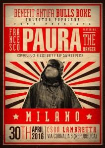 Paura live @ csoa Lambretta 30/04 powered by Func & Antifa Bulls Boxe @ Csoa Lambretta
