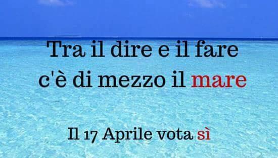 Il 17 Aprile noi votiamo e votiamo sì