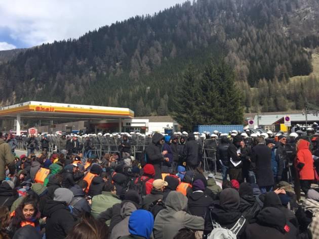 [DallaRete] Manifestazione al Brennero, arrestato un attivista del Tpo