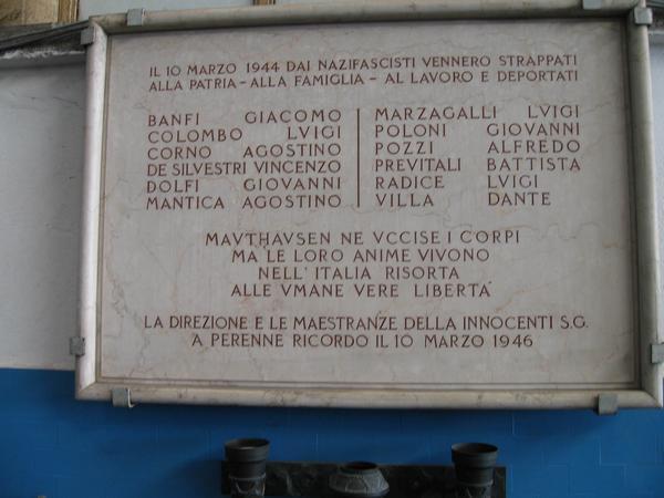 [DallaRete] Alla Innse divieto di commemorare gli operai caduti nella Resistenza