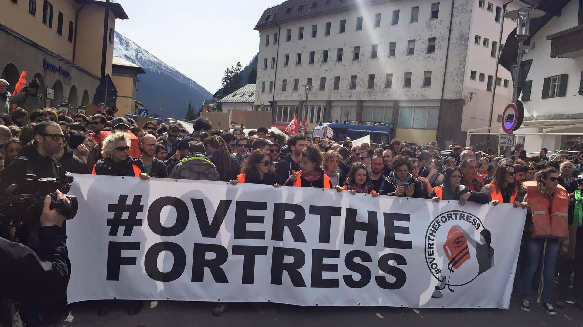Contro i confini della fortezza Europa – diretta dal Brennero