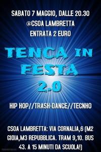 TENCAinFESTA! 2.0 @ Csoa Lambretta