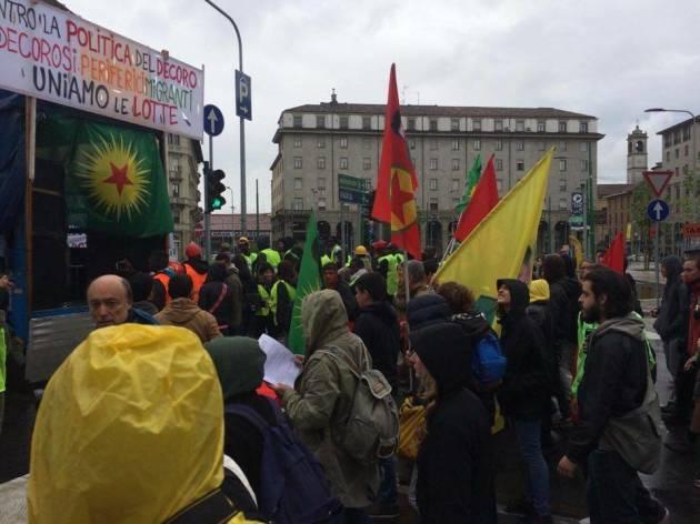 [News] Da Milano a Roma solidali col Kurdistan!