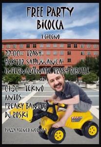 Free party @ Bicocca - Piazza dell'Ateneo Nuovo @ Bicocca