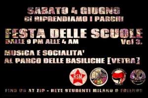 Festa delle scuole in Vetra @ Milano